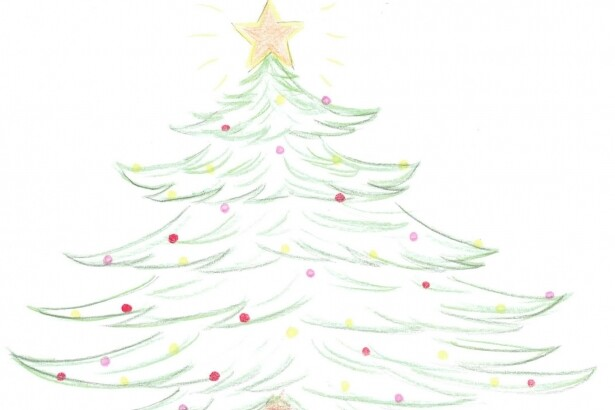 Weihnachtsbaum_Zeichnung Dunja Morge