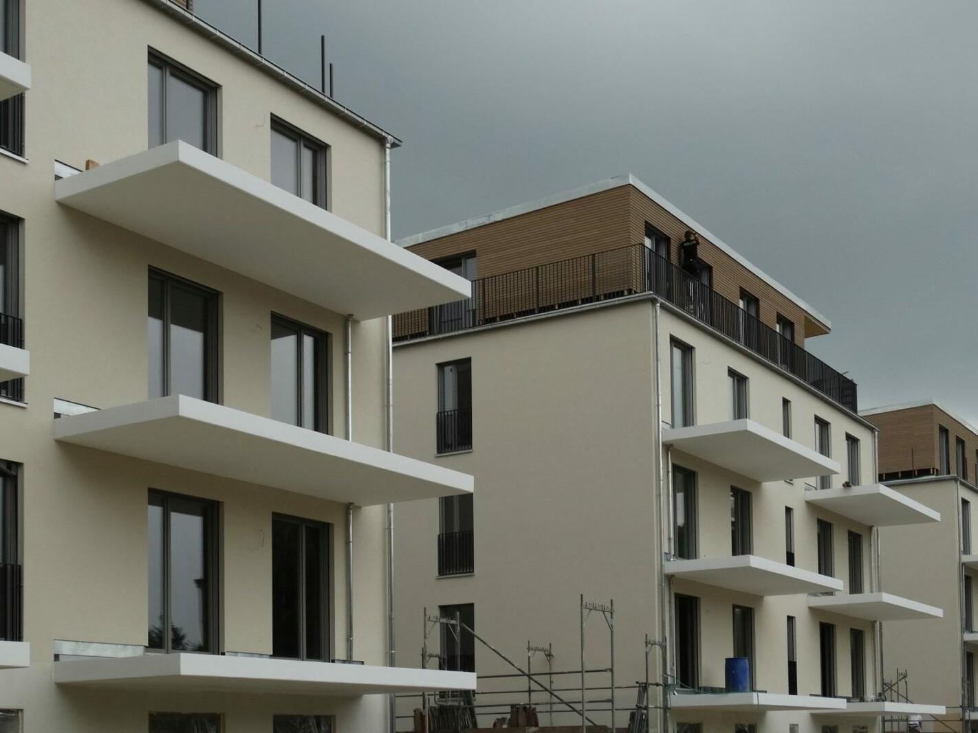 Gartenfassade zur Bauzeit