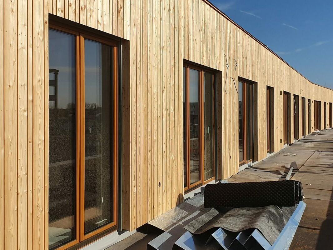 Walden 48: Holzfassade Staffelgeschoss