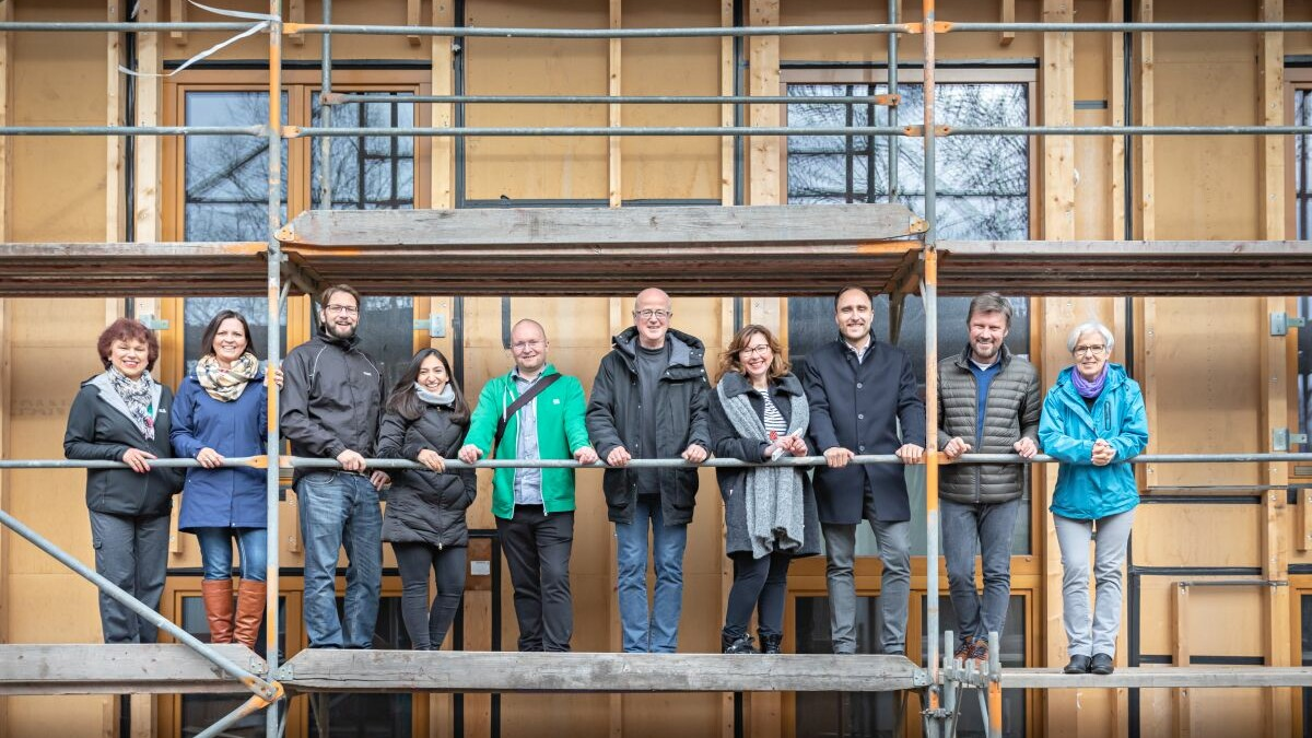 Teamfoto Architekten Ingenieure Eberl-Pacan (Foto: Fred Wagner)