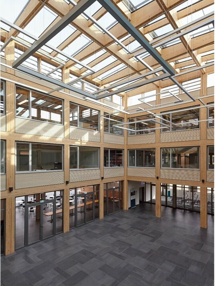 Neubau Firmengebäude Flexim GmbH Berlin_brandschutz plus eberl-pacan brandschutzplaner_Berlin_überdachter Hof innen