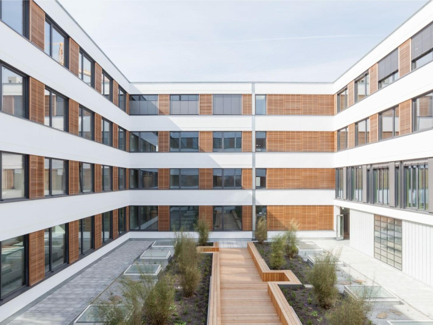 Neubau Firmengebäude Flexim GmbH Berlin_brandschutz plus eberl-pacan brandschutzplaner_Berlin_Hofkonzept