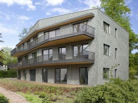 Wohnhaus am Kleinen Wannsee Belin_brandschutz plus eberl-pacan brandschutzplaner_Südfassade