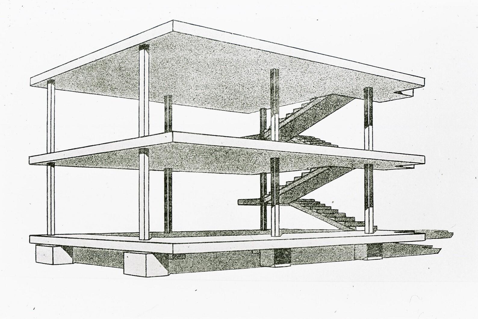 Le Corbusier_Maison Domino