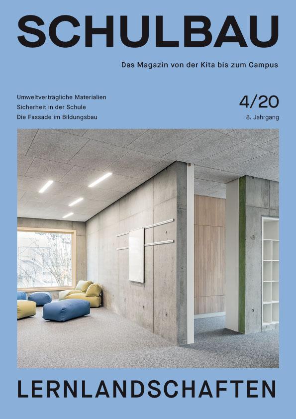 Magazin SCHULBAU_SB_4-20_Cover