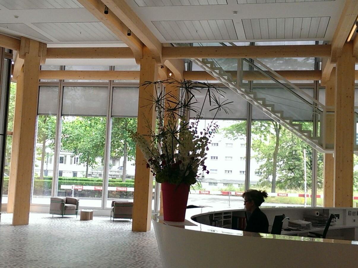 Neubau Tamedia Zürich_Schweiz_Foyer_Foto_Reinhard Eberl-Pacan