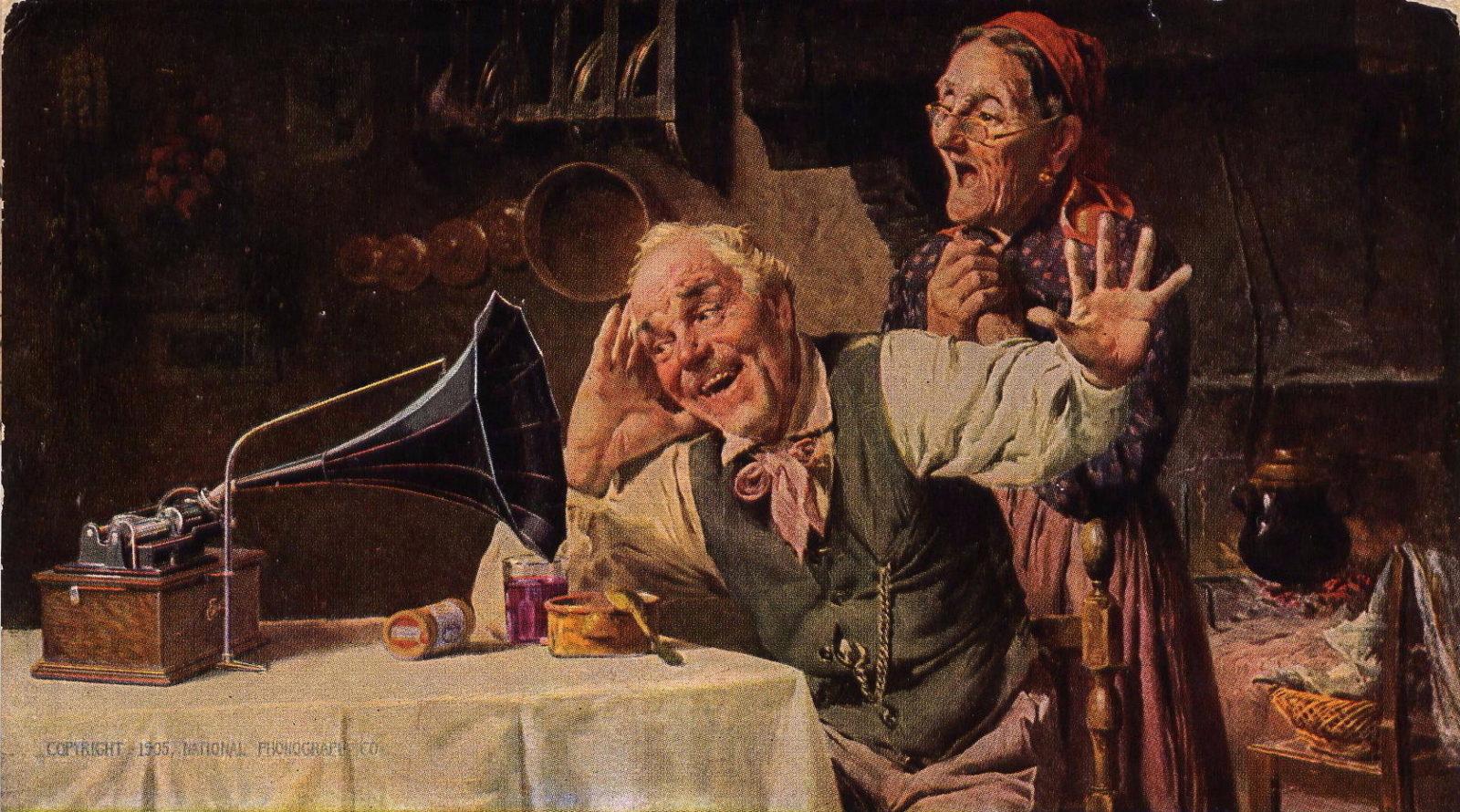 edisondelights1905_wahrnemung_Wahrnehmung-The Edison Phonograph Wikimedia commons