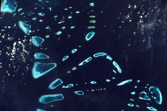 malosmadulu_atolls__maldives-Die Malediven Luftbild-NASA