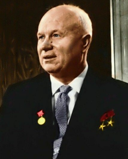 nikita_khruchchev_colour1_Nikita Sergejewitsch Chruschtschow-1894 – 1971-Foto-John Fitzgerald Kennedy Library