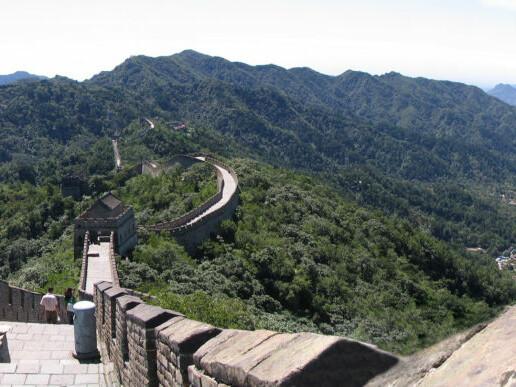 panorama-chinesische-mauer-mutianyu_martin_Die chinesische Mauer bei Mutianyu Foto-Ningling