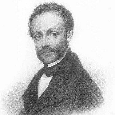Ludwig Persius, um 1840, gezeichnet von Friedrich JentzenLudwig_copyright wikipedia