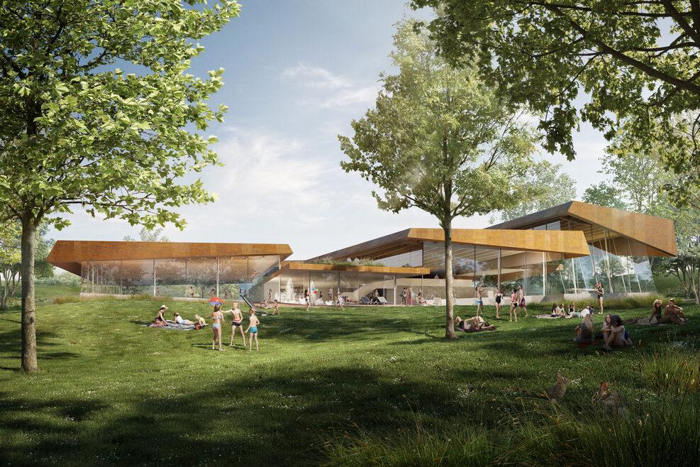 Perspektive Wettbewerb, Behnisch Architekten, Stuttgar, 2021