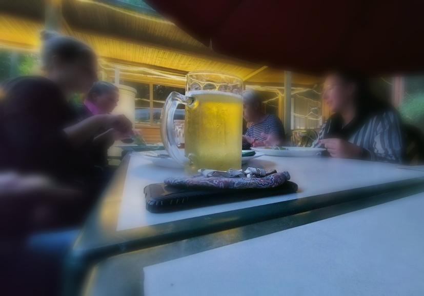 direkter Austausch bei einem Bier_2021