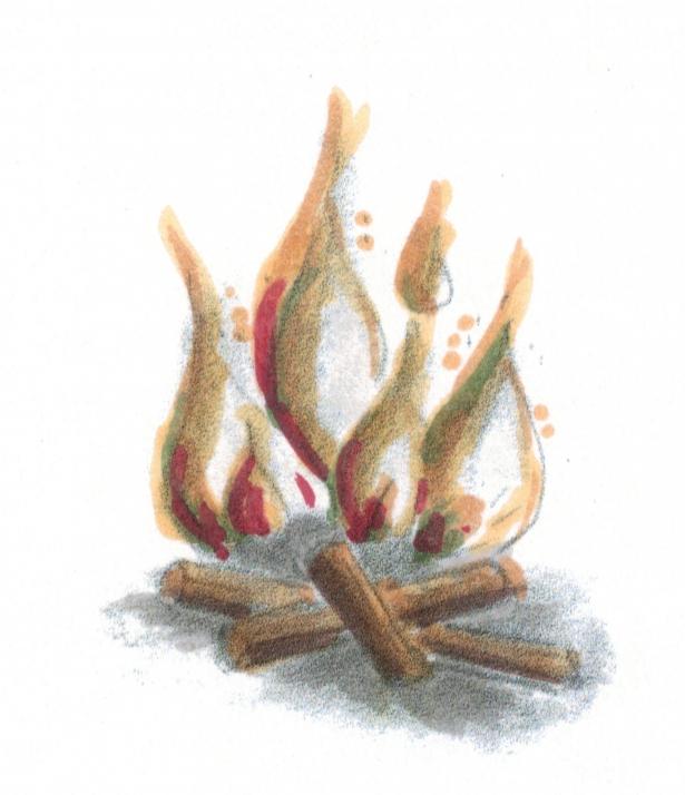 Weihnachtsgeschichte, Feuer, Brandschutz